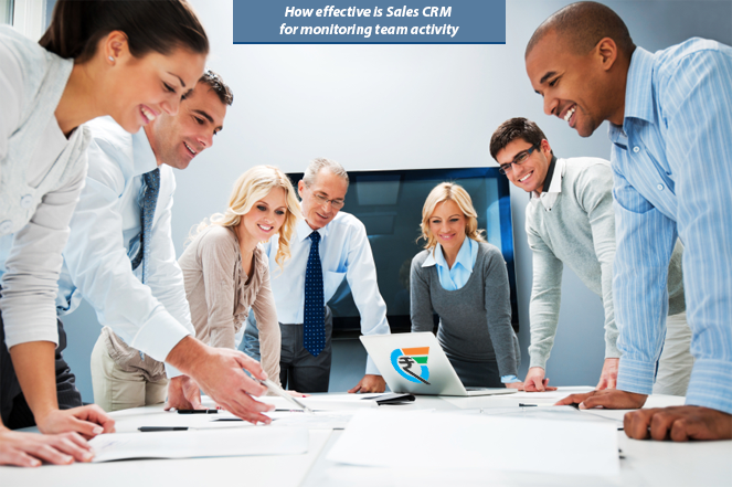 How effective is Sales CRM for monitoring team activity