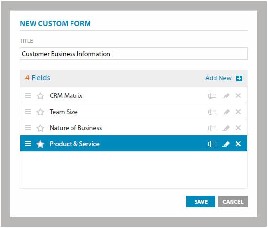 Create Custom Forms