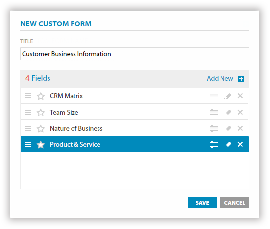 Create Custom Forms